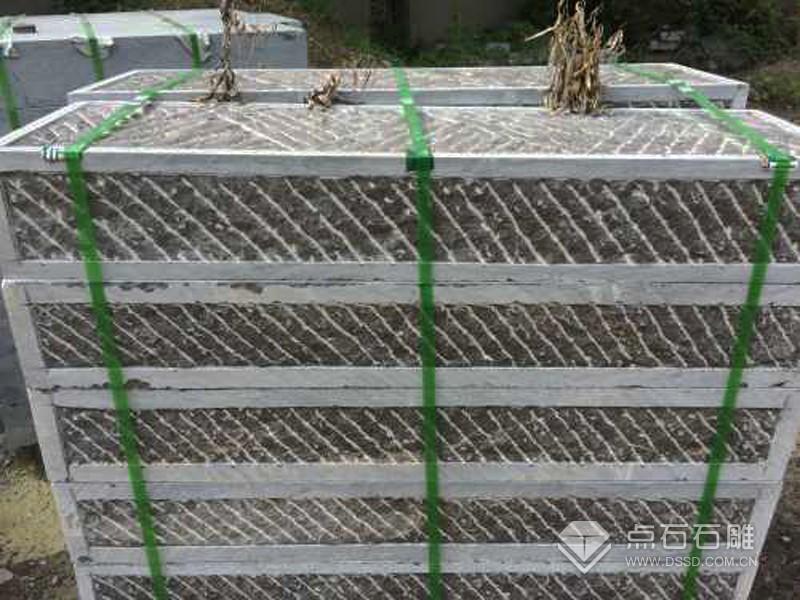 人工斜錾道/人工錾道面石板
