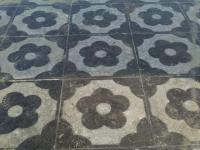 梅花图案青石板材