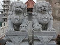 镇宅石雕狮子