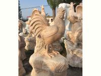 石雕十二生肖鸡