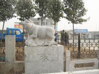 石雕十二生肖猪