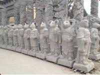 石雕十二生肖
