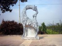 石雕梅花鹿