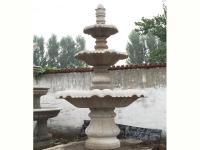 黄锈石水钵