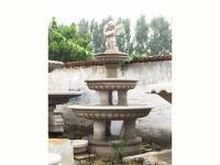 欧式石雕水钵