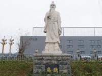 扁鹊石雕像雕塑