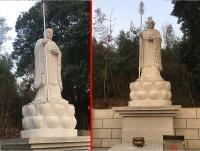 地藏王菩萨石雕像雕塑