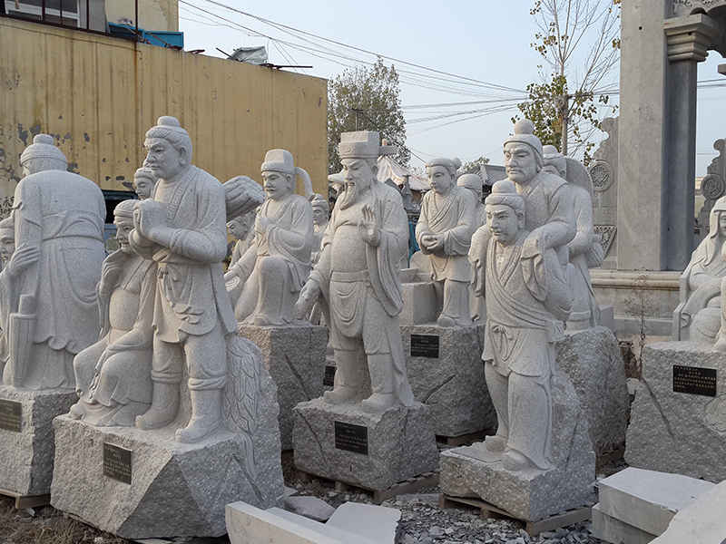 二十孝石雕像雕塑