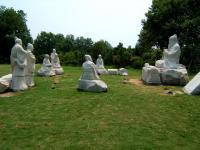 孔子行教石像
